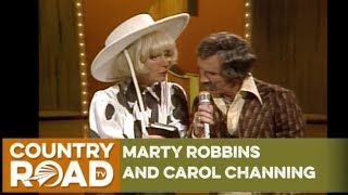 Marty Robbins and Carol Channing on Marty Robbins' Spotlight