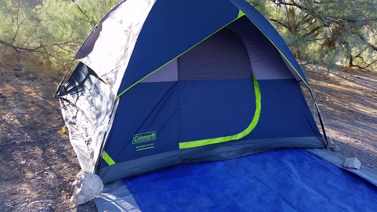 Part 1 Review Of Coleman Sundome 6 Person Camping Tent