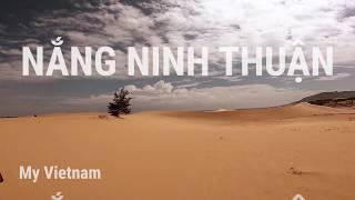 Phê với sa mạc cát ở Ninh Thuận