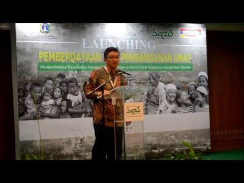 Launching Kotak amal BAZIS Kota Administrasi Jakarta Pusat