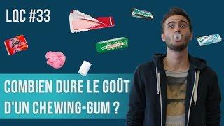Combien de temps dure le goût d'un chewing-gum ? LQC #33 Feat. Kevin le zombie