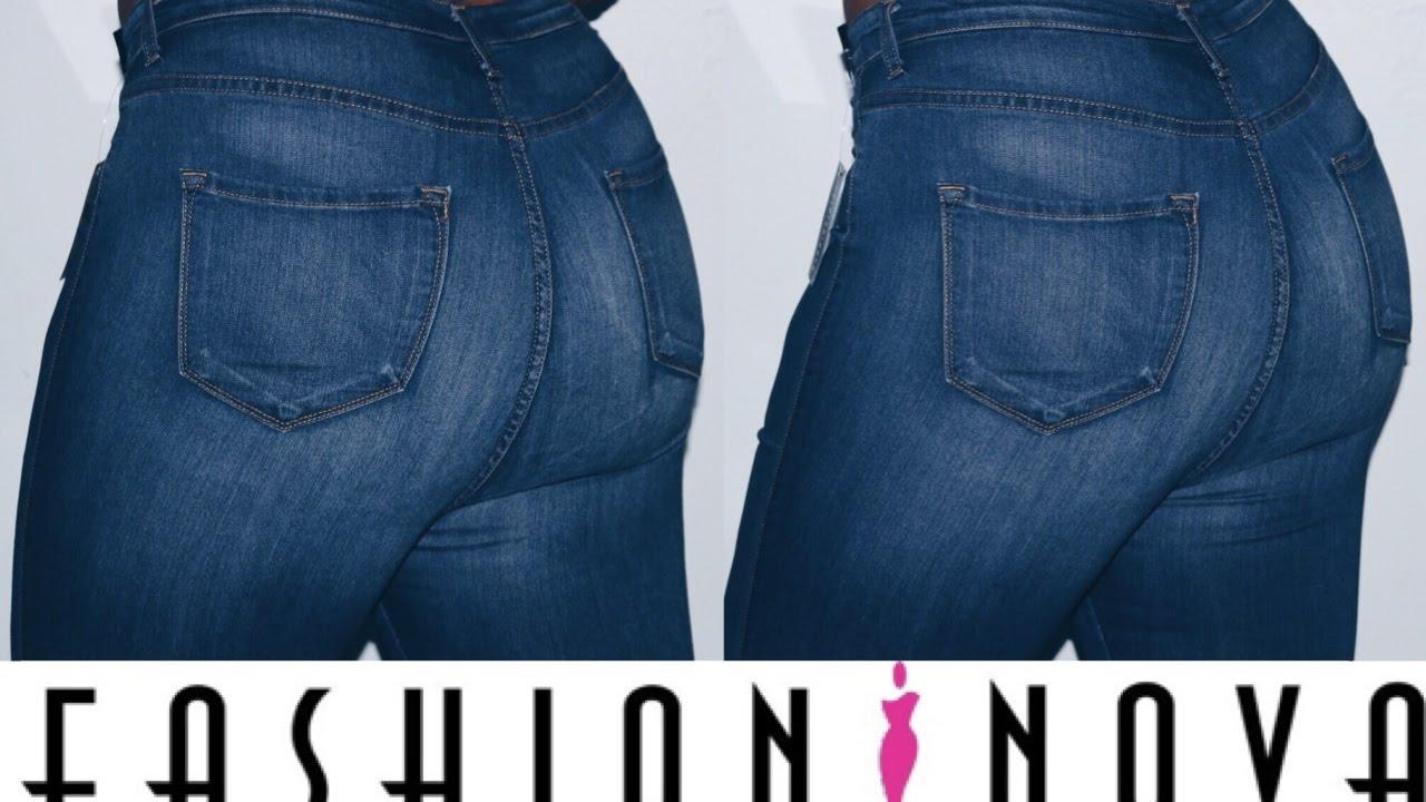 d16eda38a0 Fashion Nova Jeans Try On
