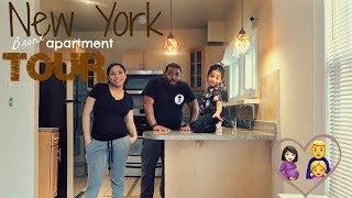 NYC Bronx Empty Apartment Tour! Our first place Together
