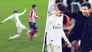 What Simeone said to Valverde after his horrible tackle on Morata | Oh My Goal