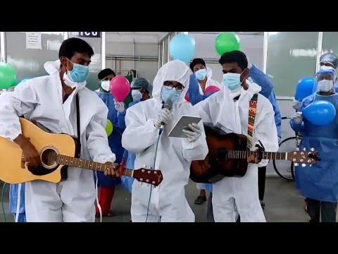 Song for Covid patients   Main koi aisa geet Gaoon   KBN Hospital   Entertainment   Shah rukh khan  