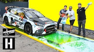 Can Dish Soap Stop a 600hp AWD Rallycross Car from Launching?? thumbnail