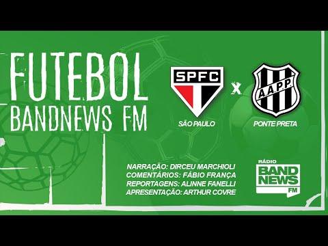 São Paulo x Ponte Preta - Campeonato Paulista - 01/03/2020