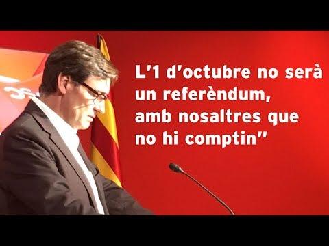 """L'1 d'octubre no serà un referèndum, amb nosaltres que no hi comptin"""""""