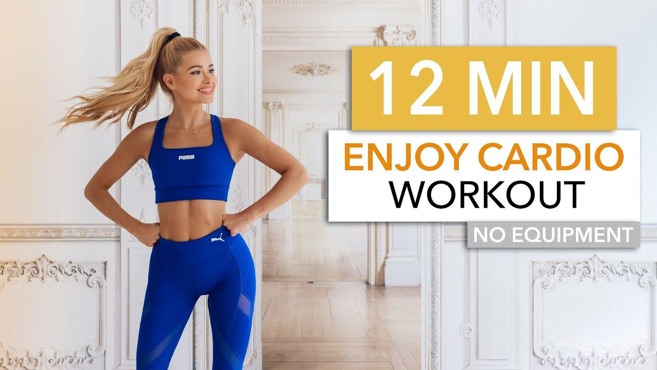Download 12 MIN ENJOY CARDIO - a good mood cardio session, LET'S HAVE FUN! / Pamela Reif