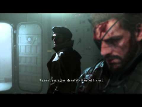 Metal Gear Solid Escape Command Room