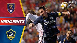 Real Salt Lake vs. LA Galaxy | Crucial Playoff Points! | HIGHLIGHTS