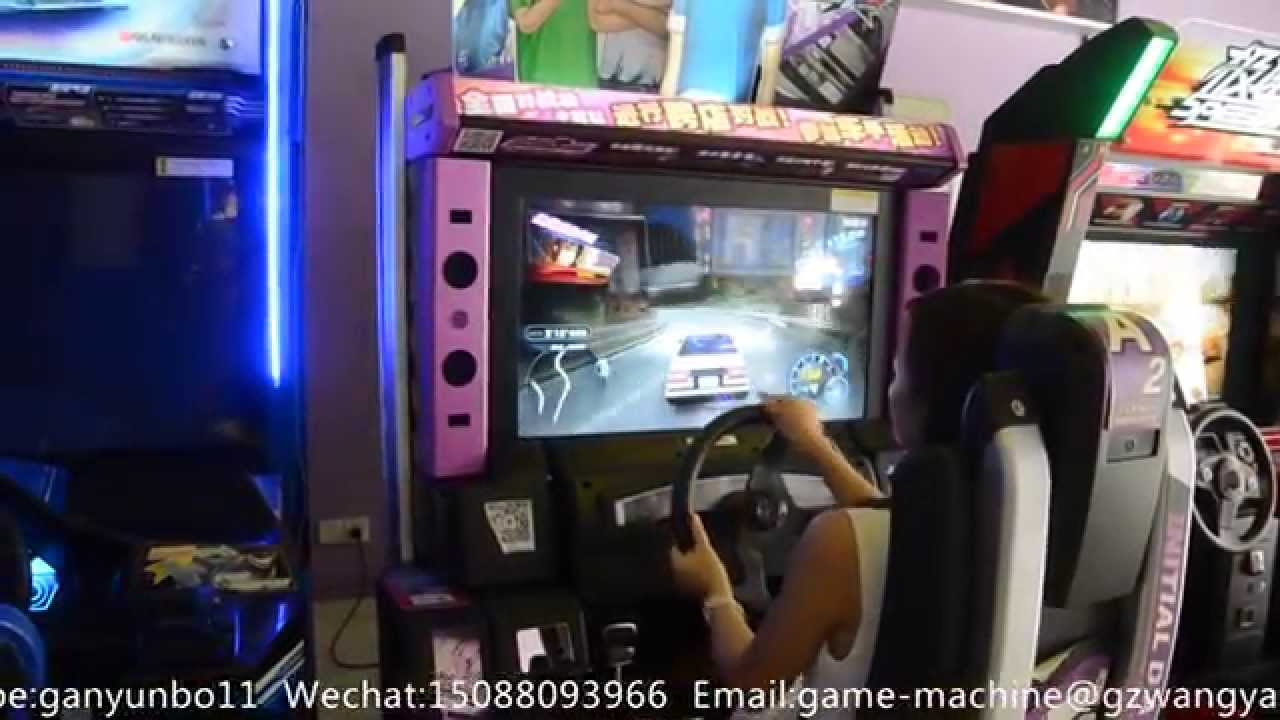 Initial D Arcade Stage 7 AA racing game machine arcade racing game ...