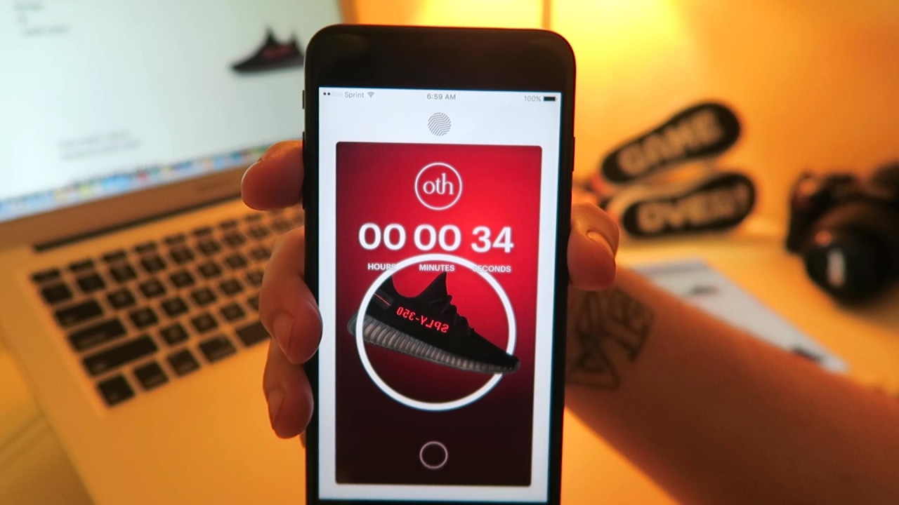 Trying To Buy Yeezy Using Frenzy Sneaker App