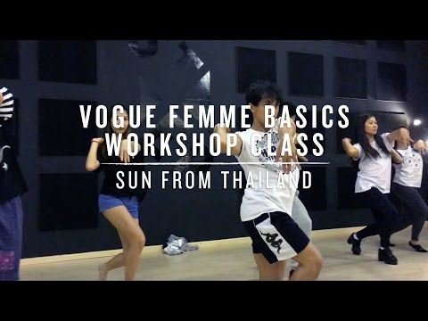 Vogue Femme Basics Workshop | Sun from Thailand