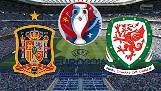 SPANIEN gegen WALES - EM 2016 FRANKREICH (Qualifikation) ◄ESP #01►