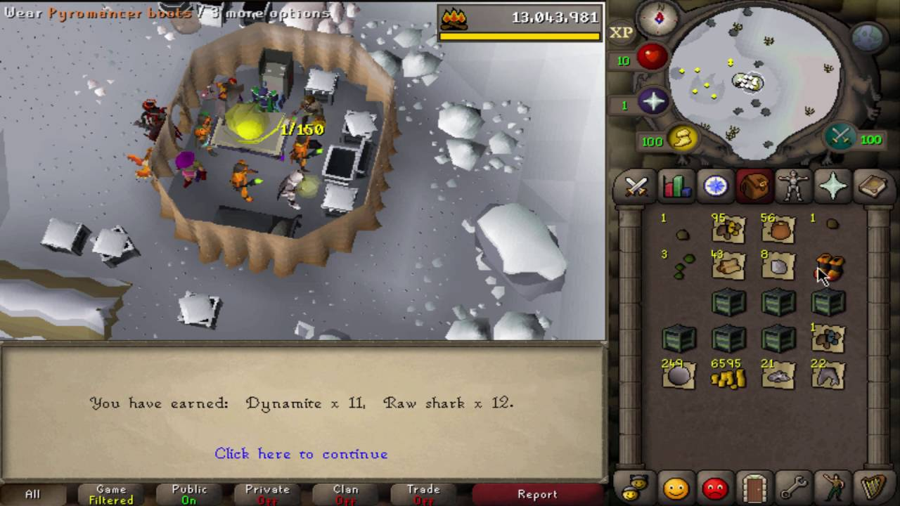 OPENING 634 WINTERTODT CRATES AT ONCE Loot From 50 99 Firemaking