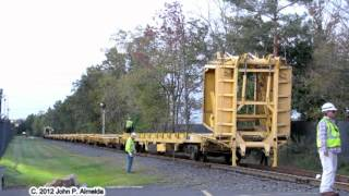 Truck Train? CSX MOW on Stony Creek Branch West Point PA September 24 2012