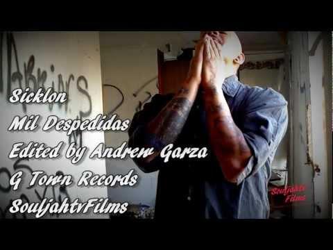 Sicklon - Mil Despedidas Official Music Video HD (Garden City Kansas Rapper)