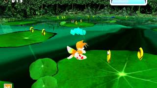 Sonic Adventure - Sonic Adventure Tails vs Chaos 4 - User video