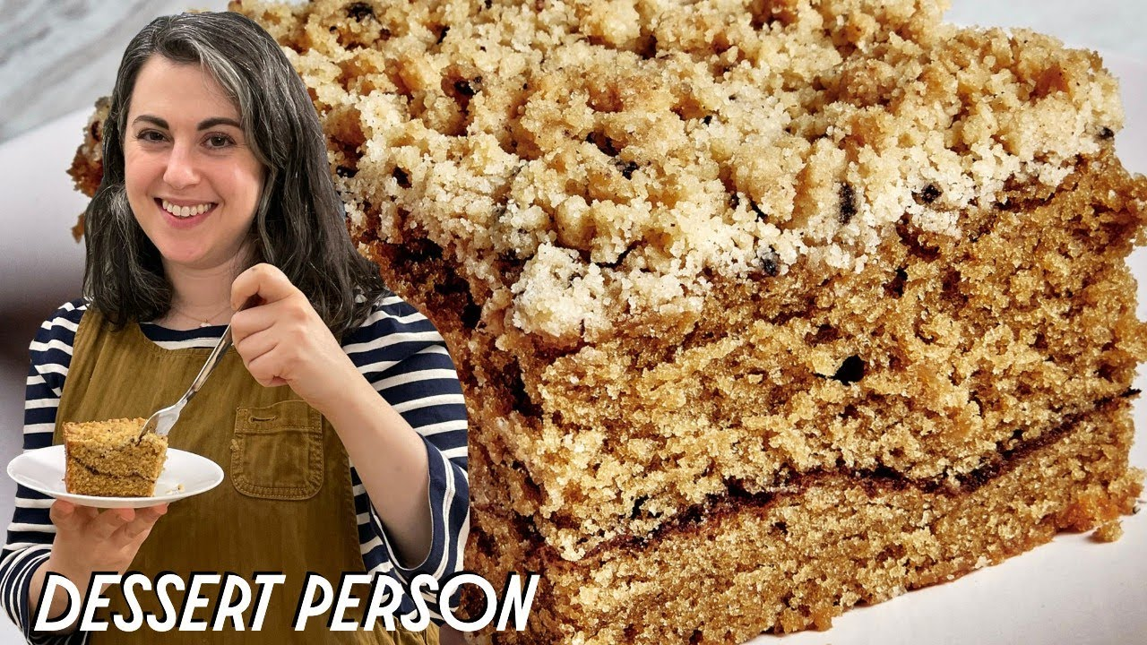 Claire Saffitz Makes Coffee Coffee Cake Dessert Person Youtube