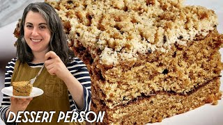 Claire Makes Coffee Coffee Cake | Dessert Person