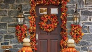 Fall Front Porch Outdoor Decorations