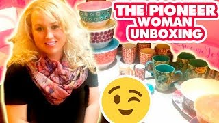 THE PIONEER WOMAN UNBOXING   Walmart Haul with LOTS of Beautiful Stuff Here!