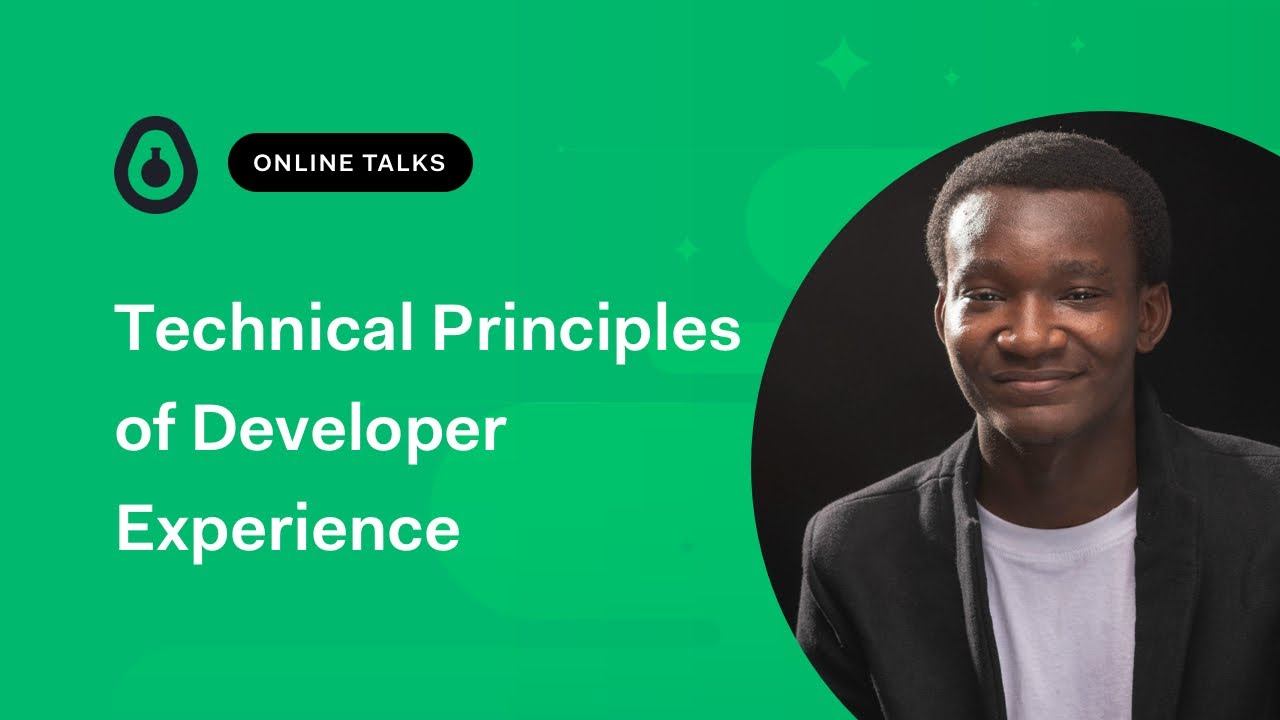 Technical Principles of Developer Experience - Shodipo Ayomide