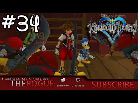 Captain Hook You CODFISH!!  - The Rogue Plays Kingdom Hearts 1 Episode 34  (1.5 HD Remix)
