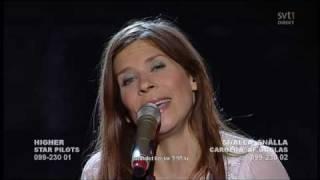 Caroline Af Ugglas - snälla snälla i melodifestivalen 09