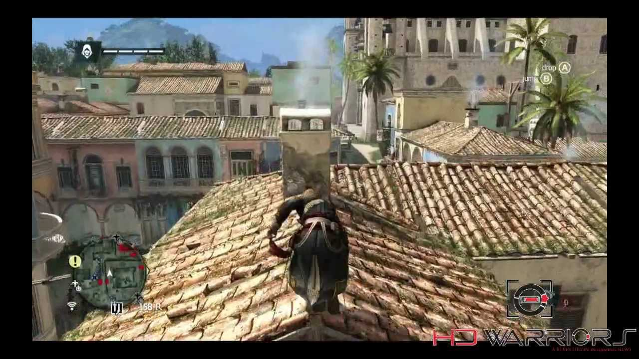 assassin creed 4 free running