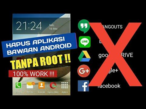 👍 Tidak perlu Root Tutorial Menghapus aplikasi bawaan Android 100% berhasil / tested Samsung.