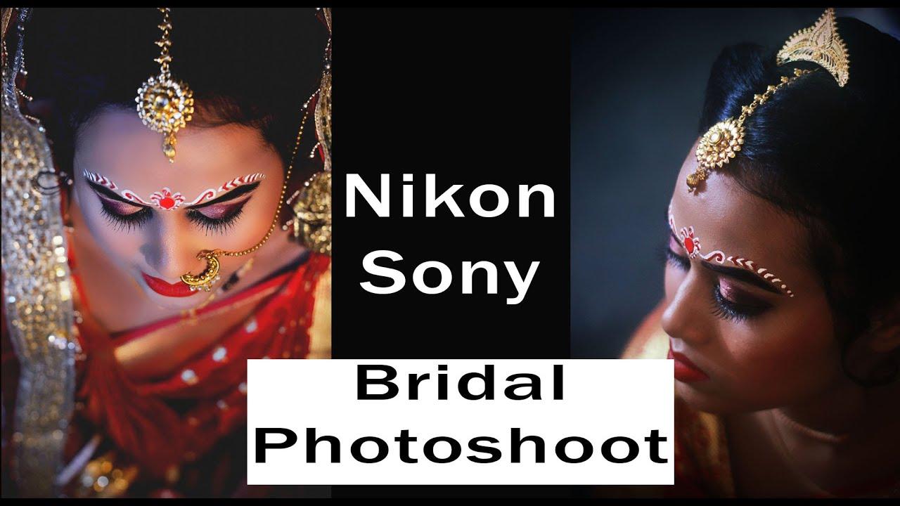 indian bridal makeup photoshoot - youtube