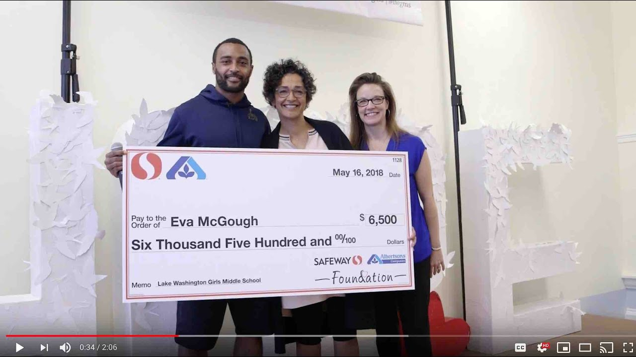 L-Dub Teachers Receive Grants from Safeway Foundation and Albertsons  Companies Foundation