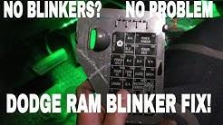 Dodge Ram no Blinkers? 2ND GEN  How to fix (Cummins)