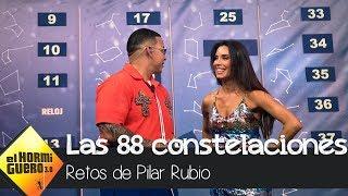 El romántico reto de Pilar Rubio para aprenderse todas las estrellas del cielo - El Hormiguero 3.0