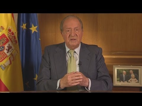 Spanish King Juan Carlos Abdicates after 39 Years