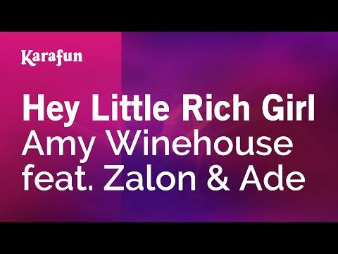 Karaoke Hey Little Rich Girl - Amy Winehouse * music
