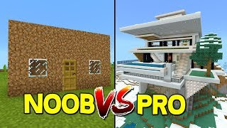 NOOB VS PRO - Minecraft Pocket Edition