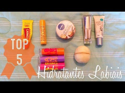TOP 5: Hidratantes Labiais