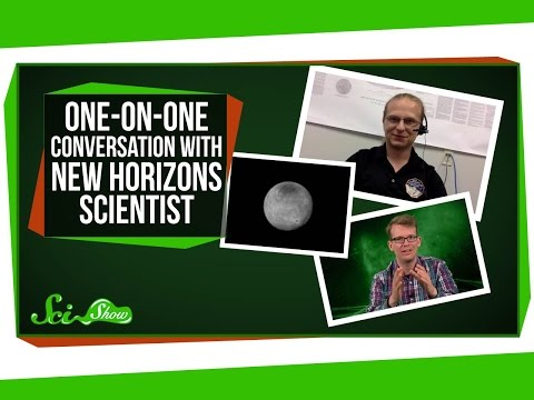One-on-One Conversation with New Horizons Scientist