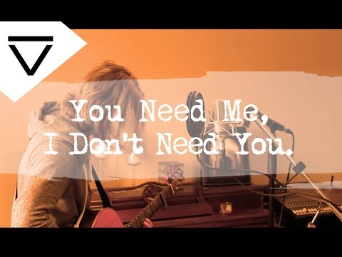 You Need Me, I Don't Need You - Ed Sheeran (Acoustic Loop Pedal Cover) With Lyrics and Tabs!