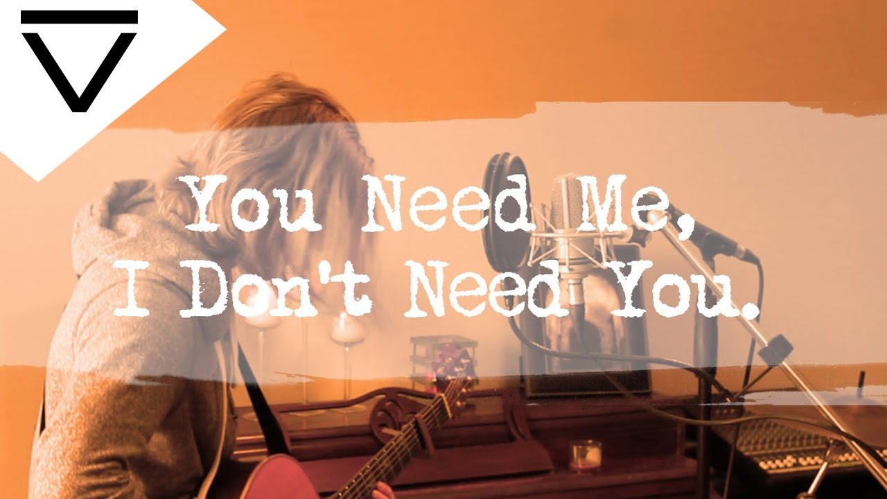 You Need Me, I Donu0027t Need You   Ed Sheeran (Acoustic Loop Pedal Cover) With  Lyrics And Tabs! Part 39