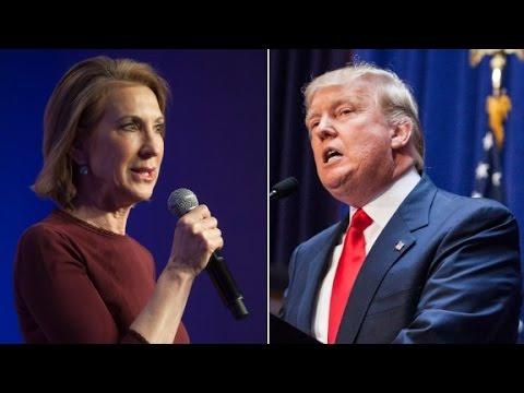 Donald Trump attacks Carly Fiorina