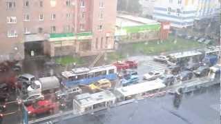 гром и молния в москве 12 июня 2012