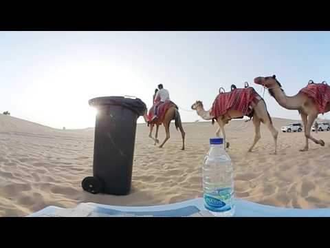 360° Desert safari Camel ride full video #360°dubai #desertsafari #uae #duabi #360° #360degreevideo