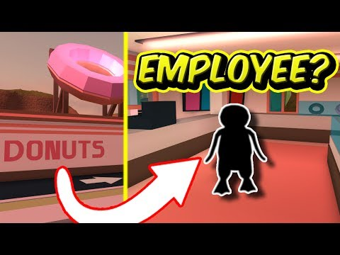 SECRET DONUTS SHOP EMPLOYEE? | Roblox Jailbreak