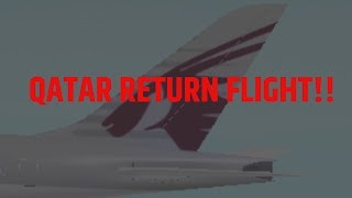 Roblox || Qatar Airways Opening/Return flight! Business Class || Boeing 777=300er