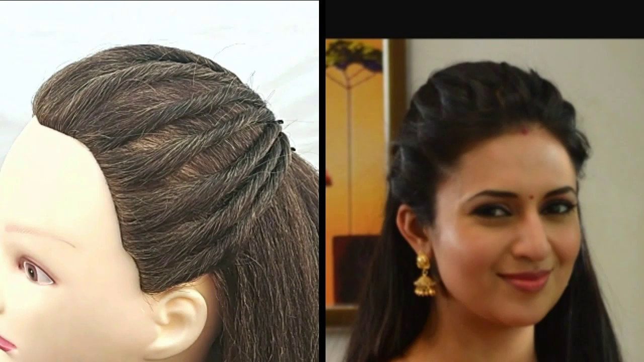 Simple Hairstyle\Easy Hairstyle\hair style girl\party hairstyle \function hairstyle - YouTube