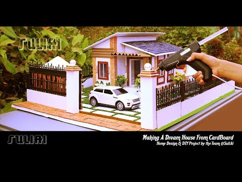 Top 5 Miniature Houses with DIY Design Ideas - How to Make Beautiful DollHouse by SuliAi